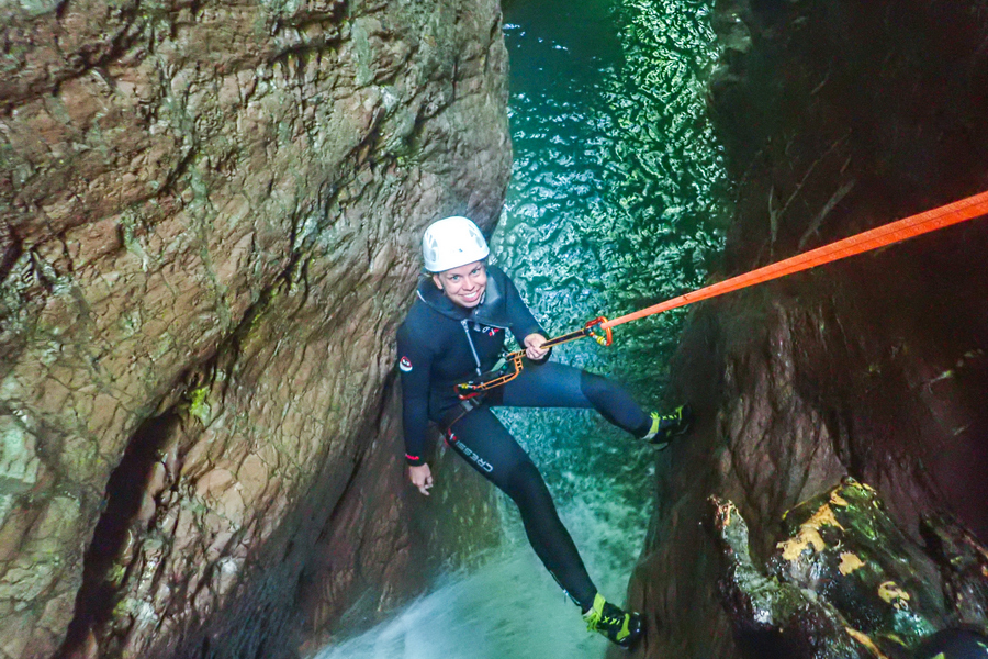Experience the best, experience canyoning Bovec