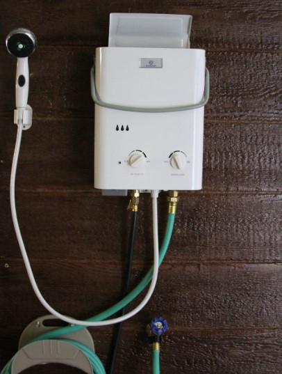 Eccotemp provides an instant supply of hot water