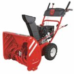 Troy Bilt is a simple snow blower capable of handling 8 to 12-inch snows