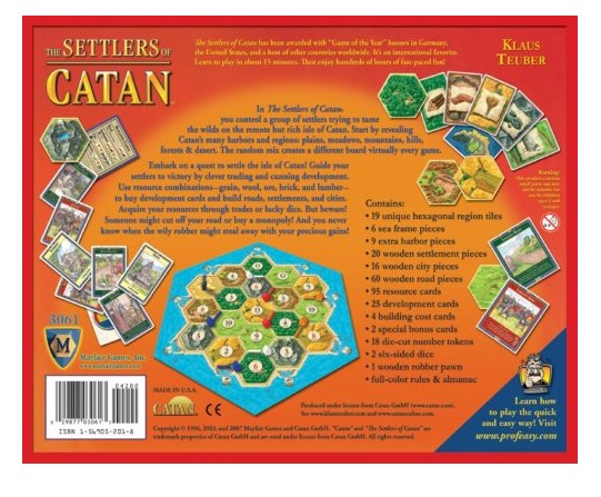 Quick Facts about Settlers of Catan