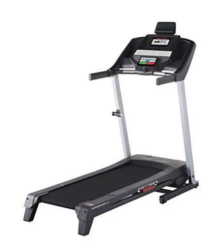 Treadmill mat protects the surface from the weight of the treadmill