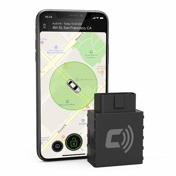 Tracking device for cars with your smart phone