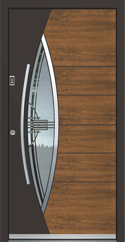 Aluminum Doors with freash color