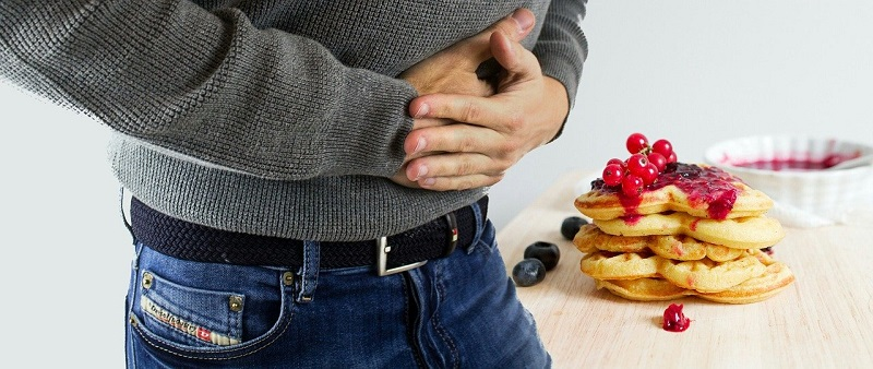 Lower abdominal bloating is when your abdomen feels tight and full